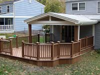 Covered Back Porch Designs | Covered Deck Ideas | The ...