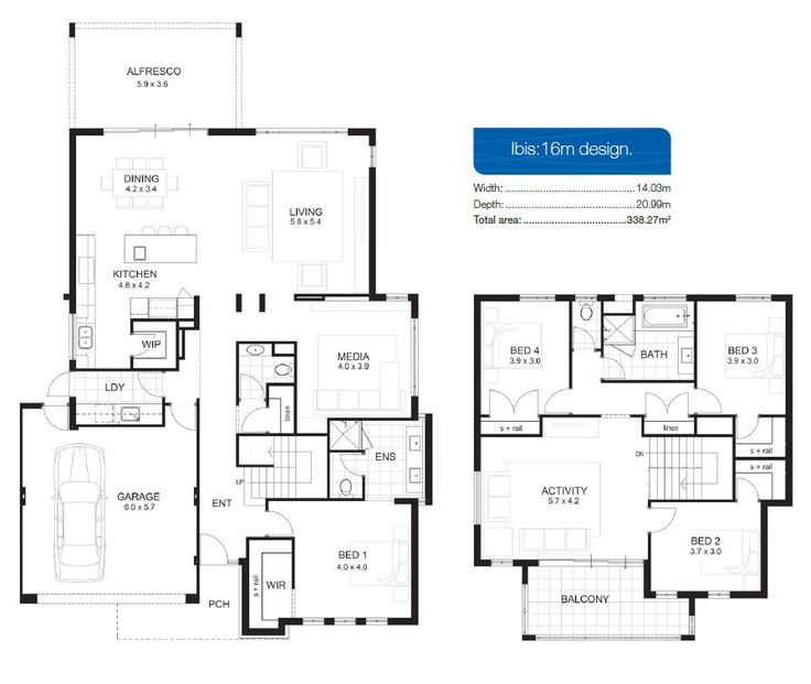 1000+ ideas about Double Storey House Plans on Pinterest