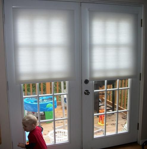 Light Filtering Cellular Shade  We Interior french doors