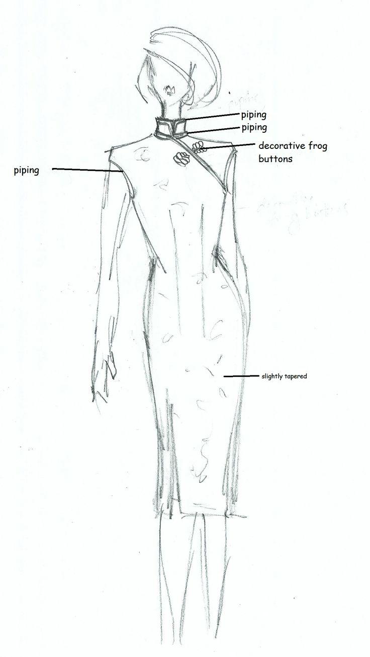 Tutorial: Anatomy of a Cheongsam