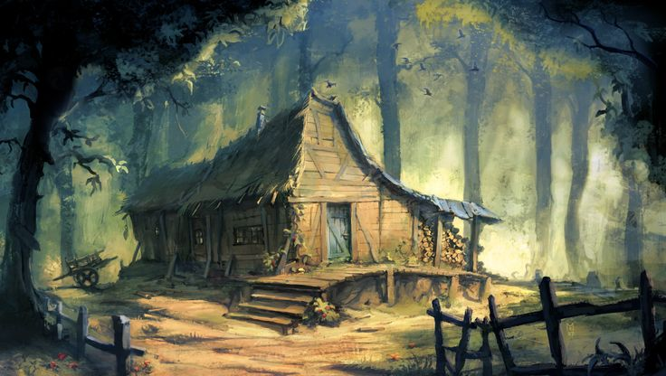 Free Hd Wallpapers Com Fantasy Forest House Trees And Forest House On Pinterest