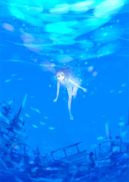 772 best images about anime in water on Pinterest Deep