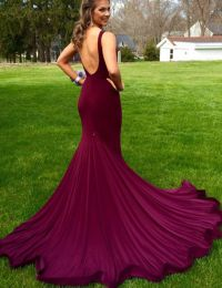 1000+ ideas about Maroon Prom Dress on Pinterest | Prom ...