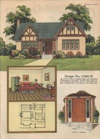 Colorkeed home plans-Radford-1920s | VinTagE HOUSE PlanS ...