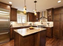 craftsman style kitchen granite countertops - Google ...