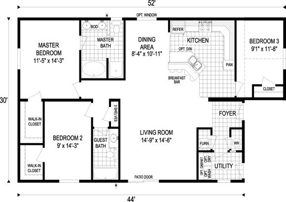 Floor Plans For 1000 Sq Ft Home Plans Home Plans Ideas Picture