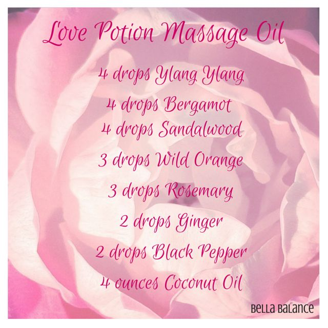 Love Potion DoTerra Essential Oil Massage Blend DoTERRA