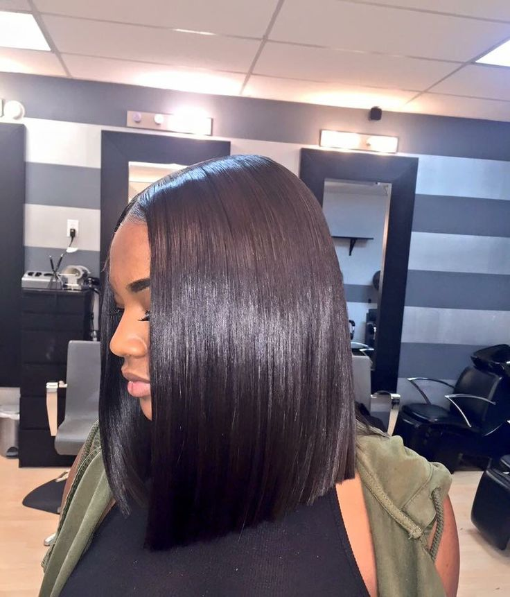 Middle part blunt cut Bob  HAIR  Pinterest  Bobs Middle and By