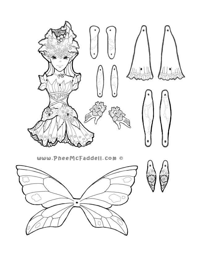 222 best images about Crafts; Fairys & Fairy Cut Outs on