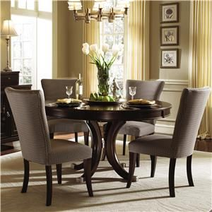kincaid furniture alston piece table and chair set round dining