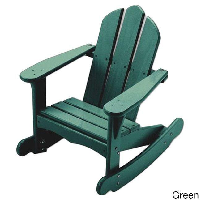 17 Best ideas about Adirondack Rocking Chair on Pinterest