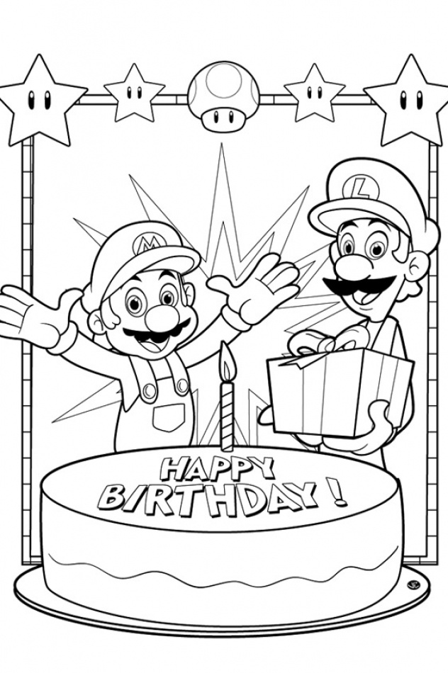 1000+ images about Super Mario Coloring Pages on Pinterest