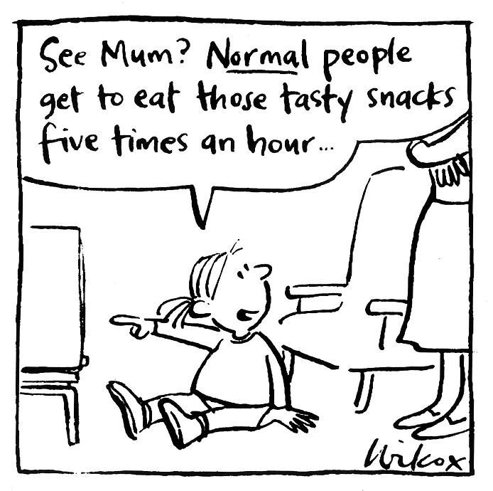 In 2011, 65% of parents surveyed rated the food industry