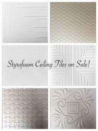 25+ best ideas about Ceiling Tiles on Pinterest | Kitchen ...