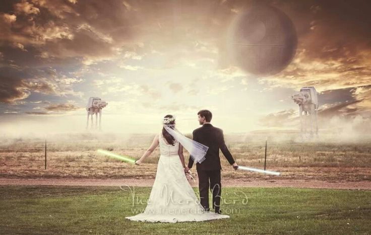 Star Wars Wedding Photography Composite starwars wedding photography nerdy  Star wars