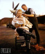 aviator haircut vintage