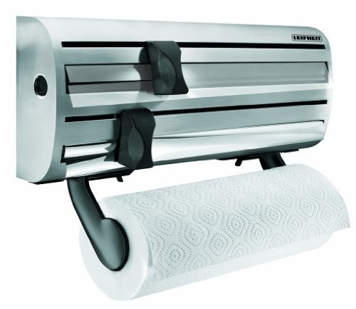 WallMounted Paper Towel Foil and Plastic Wrap Dispenser