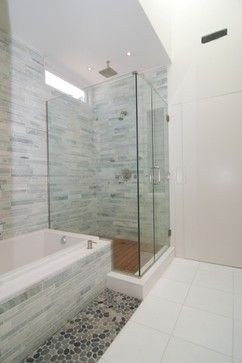 bathroom modern bathroom ming green marble subway tile