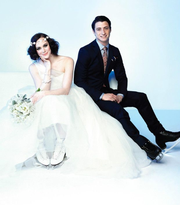 Tessa And Scott Sizzling Style On And Off The Ice April 25 Sweet And Lwren Scott