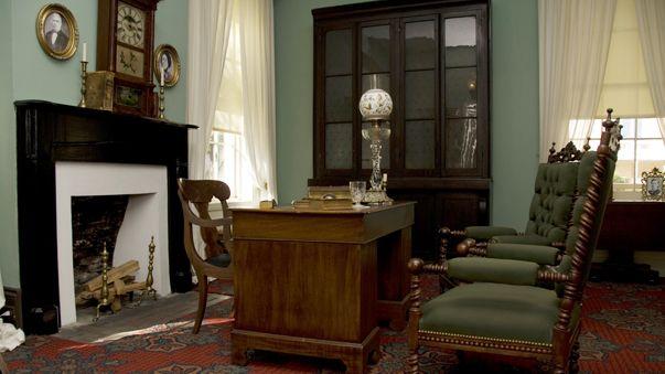 Historic House Interiors Boyhood Home Of President Woodrow Wilson Living With Beautiful