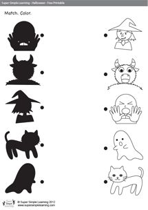 78+ images about Halloween Printables/Worksheets on