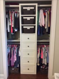 25+ best ideas about Small Closet Organization on ...
