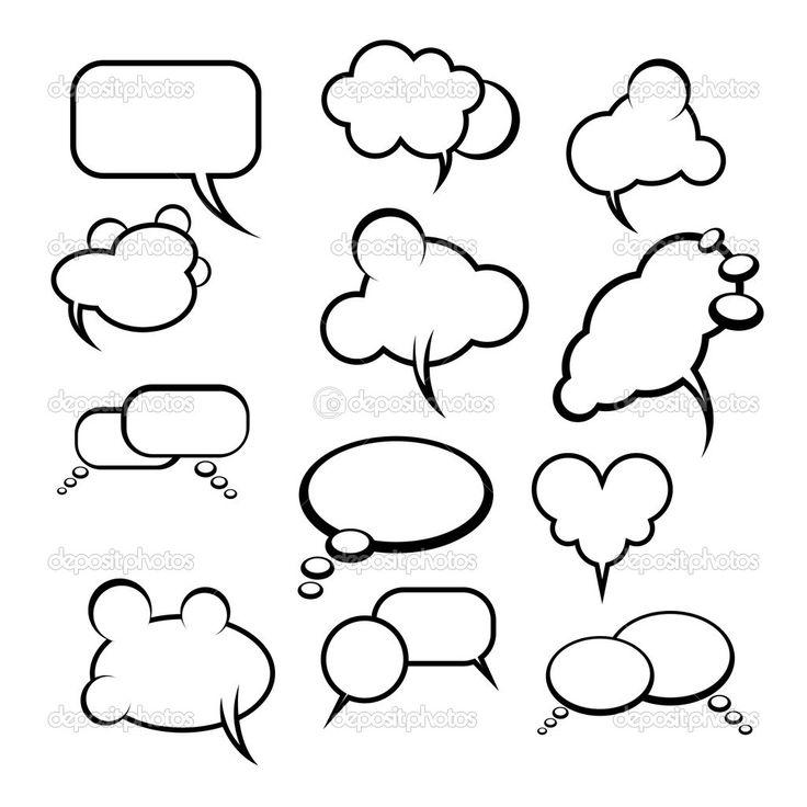 25+ beste ideeën over Tekstballonnen op Pinterest