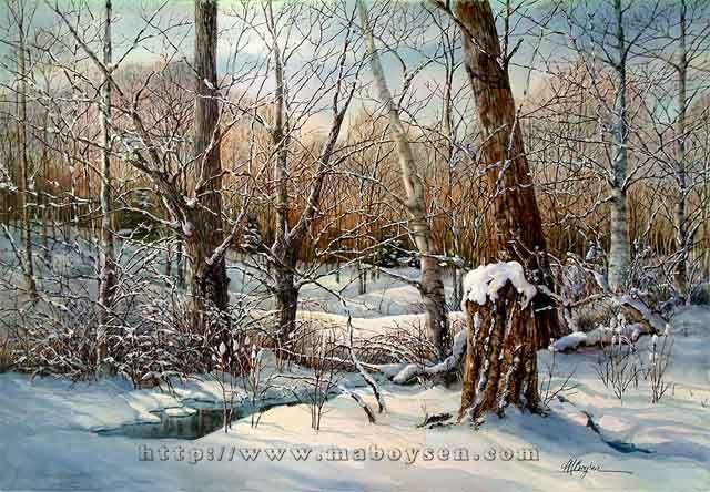Great Watercolor From Mary Ann Boysen ART Pinterest