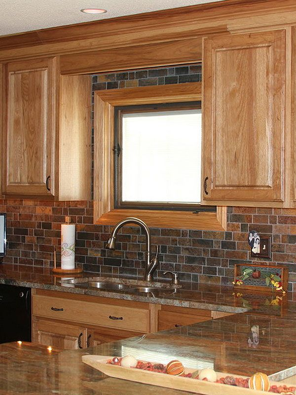 25 best ideas about Rustic hickory cabinets on Pinterest  Hickory kitchen Hickory kitchen