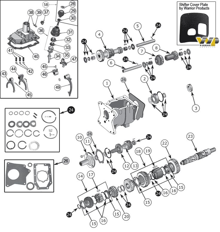 22 best images about Jeep CJ5 Parts Diagrams on Pinterest