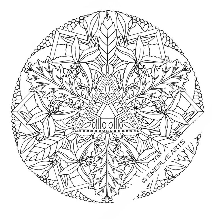 216 best images about Mandala Coloring on Pinterest