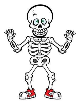 17 Best images about Cute skeleton crafts for kids. on
