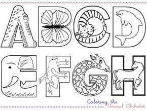 17 Best ideas about Abc Coloring Pages on Pinterest