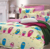 Owl Girls Bedding Sets Yellow | Geneva Ideas | Pinterest ...