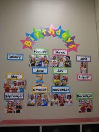 25+ best ideas about Preschool Birthday Board on Pinterest