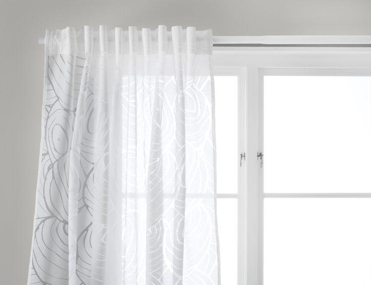 17 beste ideen over Witte Slaapkamer Gordijnen op