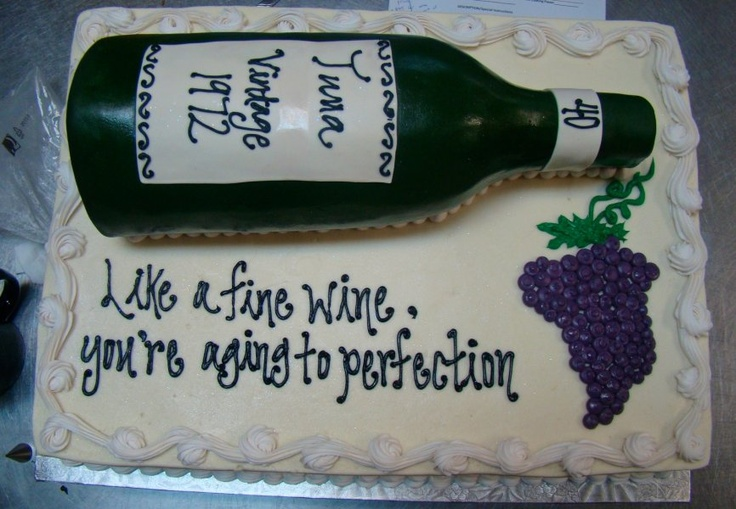 Aged To Perfection Adult Birthday Cakes Pinterest