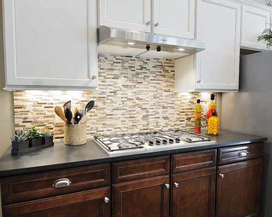 Absolute Black Antiqued Granite Kitchen Countertop