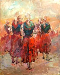 Basque Painting I love | Things for My Wall | Pinterest ...