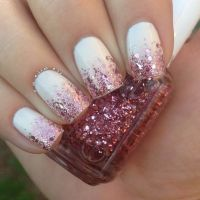 25+ best ideas about Glitter nail designs on Pinterest ...