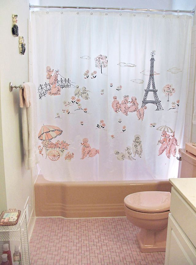 42 Best Images About Shabby Chic Shower Curtains On Pinterest