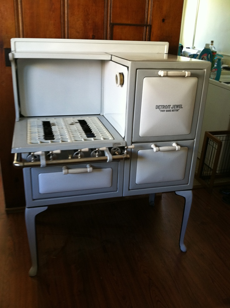 vintage kitchen stoves faucet kohler refurbished '20s detroit jewel stove. | ouroldhome ...