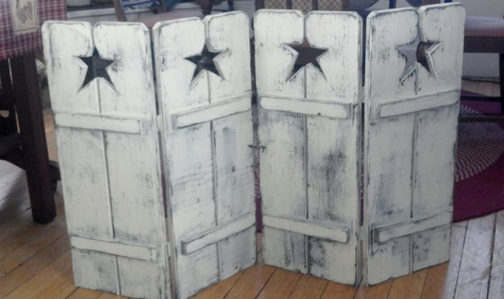 Primitive Star Shutters vary versitile Can be used in