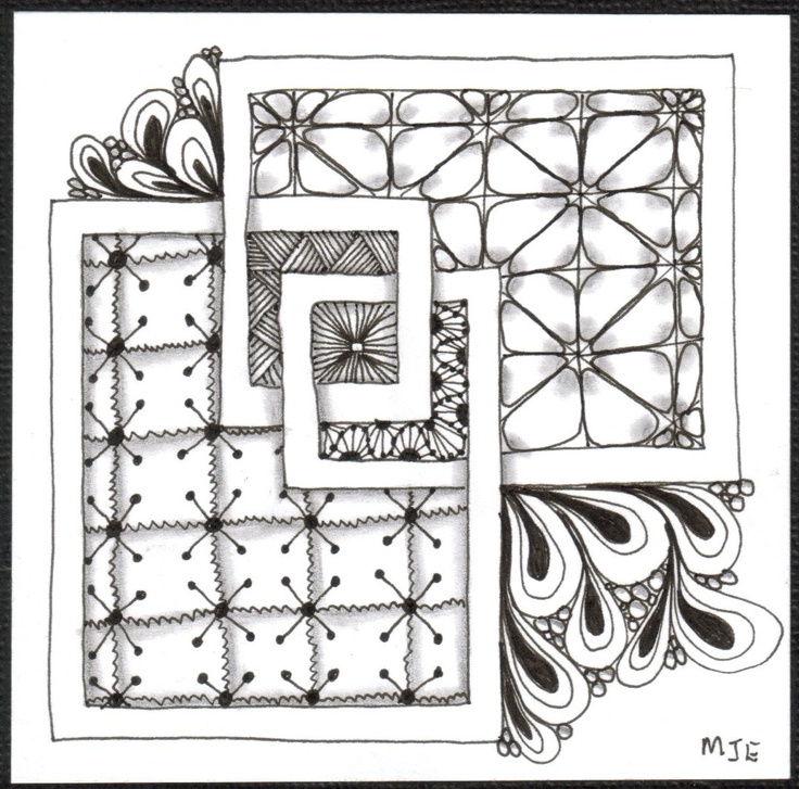 17 Best images about Zentangles & Mandalas on Pinterest
