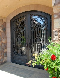 1000+ images about Wrought Iron Doors on Pinterest