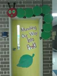 My classroom door decorated for the year. | Eric Carle ...