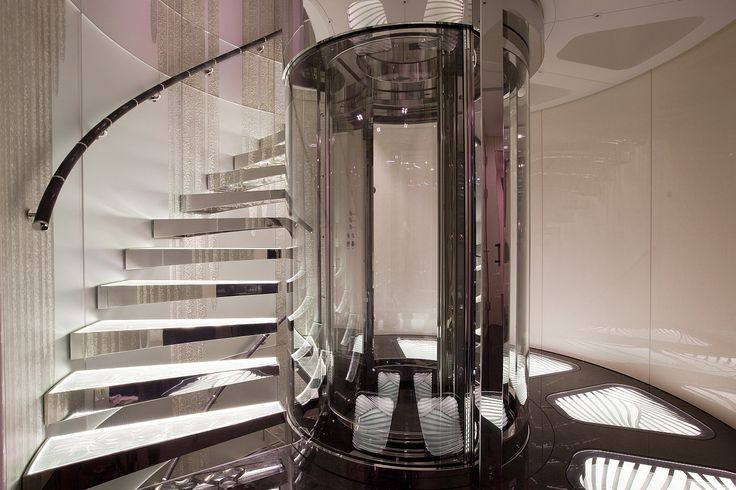 Circular Glass Elevator And Winding Staircase Designs Pinterest The Ojays Elevator And
