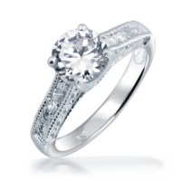 42 best images about Vintage Engagement Rings - CZ on ...