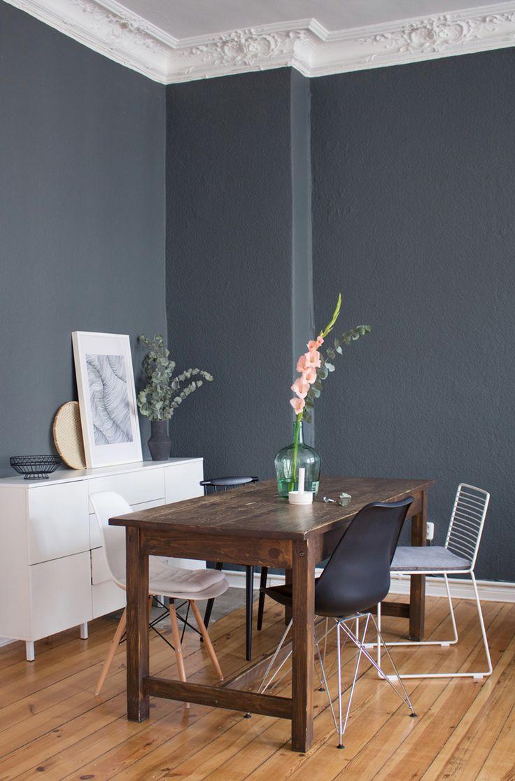 Die 25 besten Graue wnde Ideen auf Pinterest  Wandfarben Ideen Bodenbelag und Hartholz Bden