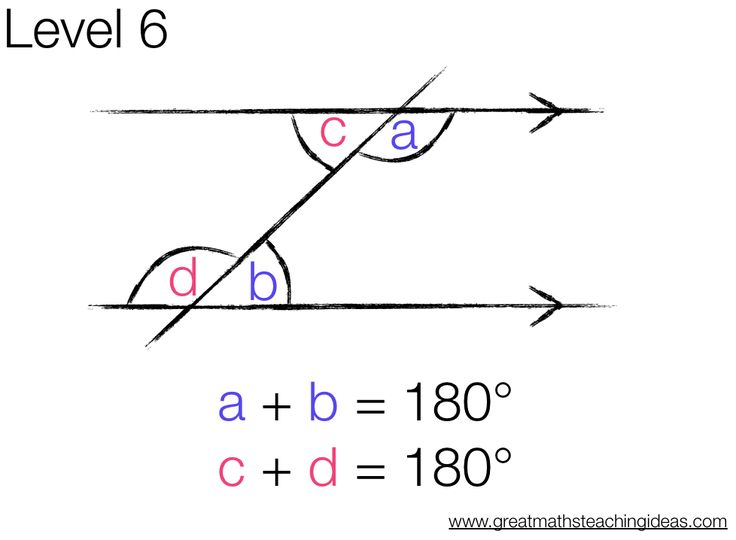29 best images about Geometry parallel lines & angles on